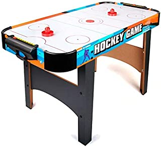 Luxury Air Hockey Table Air Flow Indoor Competition Ice Hockey Game Table With Powerful Fan And Cool Graphic Design Air Ho...