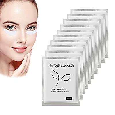 50 Pairs Under Eye Gel Pads Eyelash Extension Eye Gel Pads Lint Free Eye Patches Sticky Eye Pads for Eyelash Extensions Lash Lift