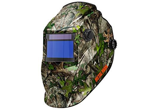 Metal Man Big Window Variable Shade 9-13 Plus Grind Auto Darkening Welding Helmet (Camoflage)