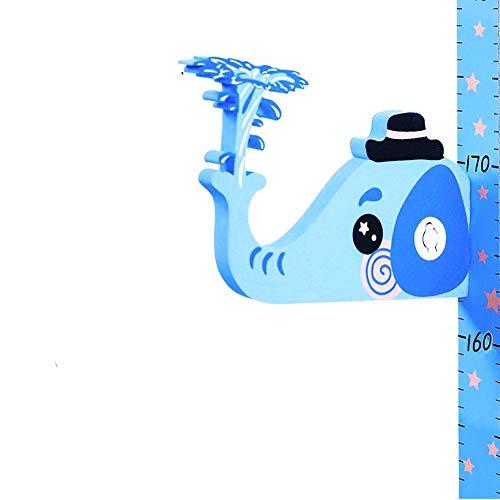 NFACE Baby Wachstum Diagramm Höhenmessung Leinwand abnehmbare Messlatte 79