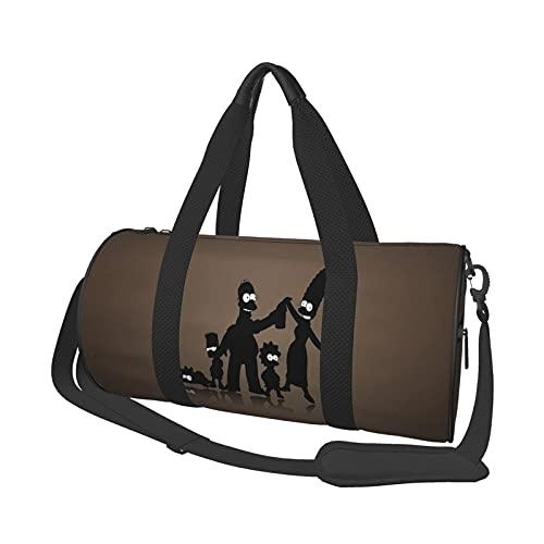 Borsa da palestra Unisex Large Caity Portable Menger Travel Weekender Duffel Borsa sportiva per uomo e donna