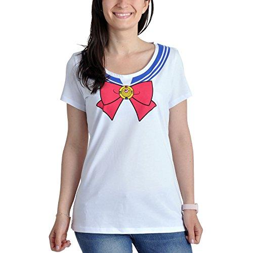 SAILOR MOON - T-Shirt COSPLAY GIRL (M) : TShirt , ML