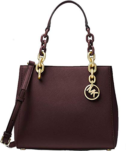 MICHAEL Michael Kors Cynthia Saffiano Leather Small Satchel