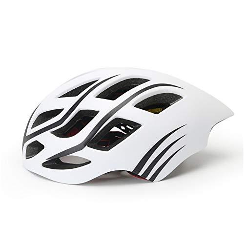GHL Bicicleta/Casco de Ciclismo Hombres/Mujeres Moldeada Integralmente 18 Orificios Casco de Bicicleta...