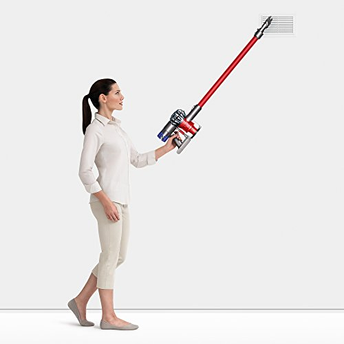 Dyson V6 Absolute Cordless Stick Vacuum Cleaner, Red