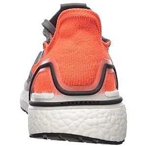 adidas Men's Ultraboost 19 Running Shoe, Grey/Black/hi-res Coral, 9 M US