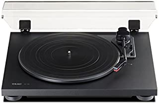 Progettato per gli appassionati di musica, il motore trazione a cinghia assicura un suono più pulito rispetto a lettori DJ a presa diretta L'uscita è commutabile tra Phono Out, per l'uso con un preamplificatore e la linea con fono EQ per l'uso con mo...
