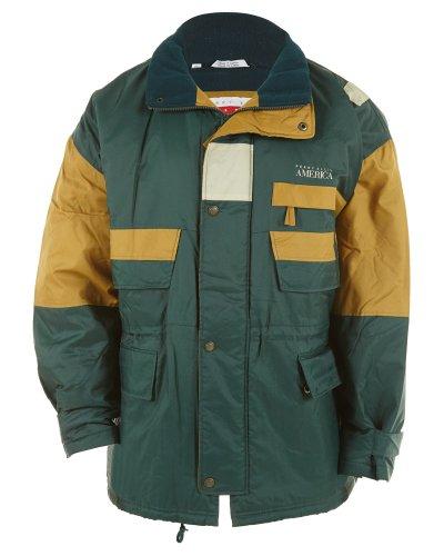 Perry Ellis America Hi-Tech Thermal Fleece Style: P7318B-319 Size: 3X Green-Yellow