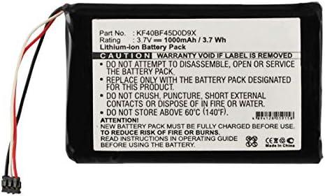 Sales Synergy Digital Battery Compatible Garmin GPS with Philadelphia Mall KF40BF45D0D9X