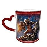 Tazza da caffè con scritta 'I Am Groot Venom in The Sky, idea regalo