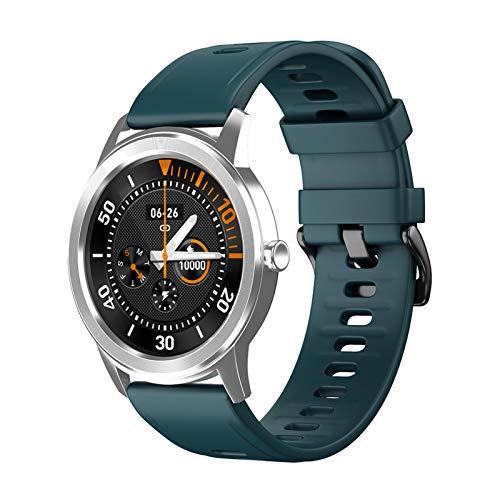 YNLRY Monitor de ritmo cardíaco, reloj inteligente impermeable, para información Android, monitor de ritmo cardíaco, fitness, color azul