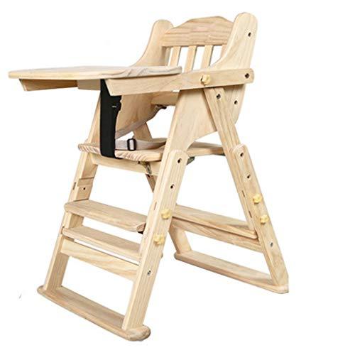 Jiamuxiangsi- Kinderstoel Effen Hout Babydiner Tafel Eetstoel Kinderstoel Hoge Kruk - Babystoel
