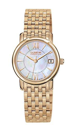 Dugena Damen-Armbanduhr Rondo Petit Analog Quarz Edelstahl 7090157