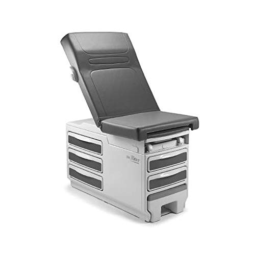 Midmark 204-011 Manual Exam Table with Stitched Upholstery Top
