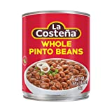 La Costeña Whole Pinto Beans, 1.4 Pound Can (Pack of 12)