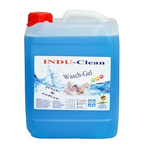Waschgel, Flüssigwaschmittel blau Meersbriese