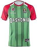 Baskonia Shooting Camiseta, Juventud Unisex, Verde, 14