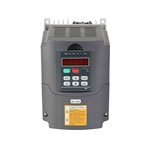 Buoqua Frequenzumrichter 3KW Variable Frequency Driver VFD 220V 4HP Professional Frequenzwandler Inverter Antrieb für Spindelmotor