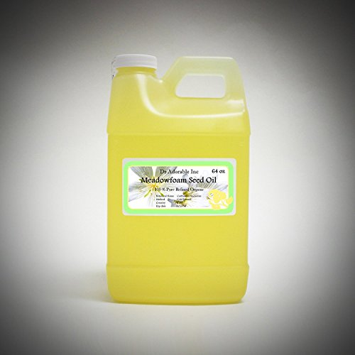 Meadowfoam semillas aceite puro orgánico por Dr. Adorable 64 oz/2 Quarts