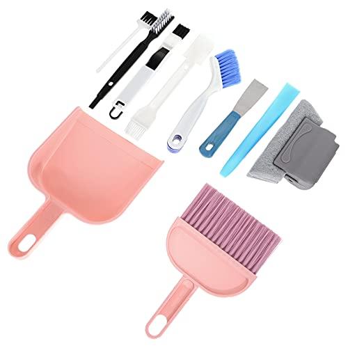 Cabilock 10 Unidades de Cepillo Limpiador de Lechada Conjunto de Juntas de Azulejo Cepillo de Limpieza Gran Uso para Limpieza Profunda Pisos de Ducha Ventana Baño Cocina
