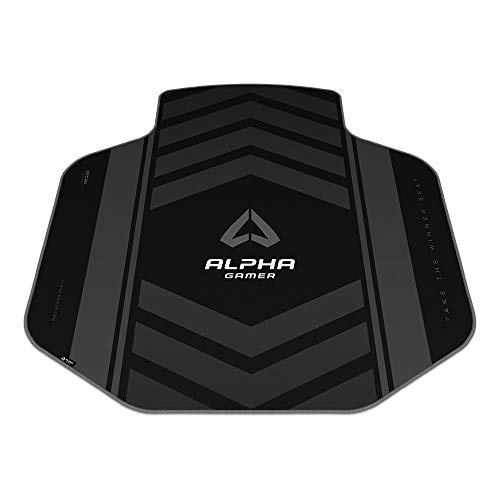 Alpha Gamer Decan - Black (Floor Mat, Alfombra del Suelo, Gaming)