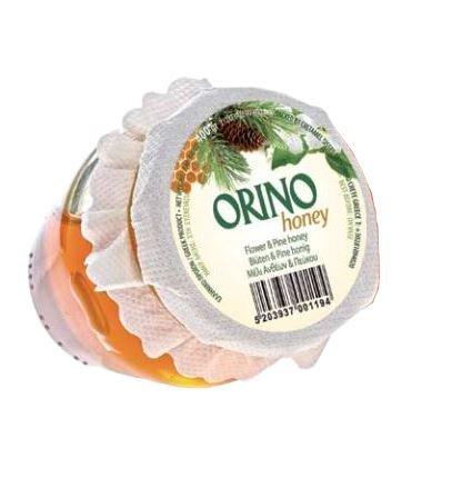 Pinien & Blüten HONIG 400g Glas Creta Mel Orino von der Insel Kreta in Griechenland - fein herber kretischer Honig von Pinienblüten Pinienhonig Bienenhonig Pinie Orino