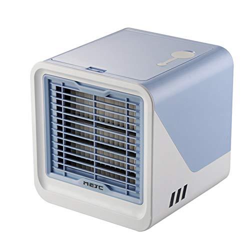 WINOMO Mini Ventilateur de climatisation Portable Ventilateur de Refroidissement USB Ventilateur de Bureau Ventilateur de Refroidisseur d' air Portable pour Bureau à Domicile