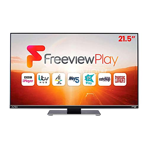 """Avtex D219FVP 21.5"""" Wi-Fi Connected HD TV with Freeview Play & DVD Player (12V/240V)"""