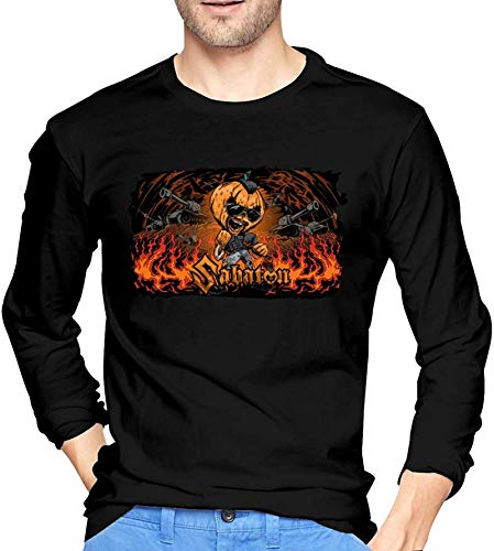Sabaton Helloween Men Long Sleeve T-Shirt Graphic Tshirts Tops