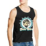 CrystalSeVoss Miami Cutler Smoking Jay Mens Casual Tank Top tee Vest Sleeveless Tee Medium Black