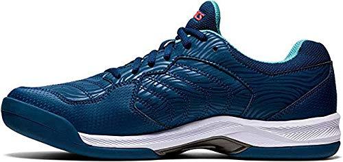 ASICS Herren Gel-Dedicate 6 Sneaker, Mako Blue/Blanco, 48 EU
