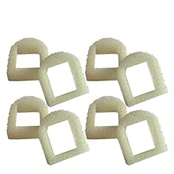 Think Crucial Replacement Pre Filter Water Filters – Compatible with Drinkwell Foam Pre Filter Part # 5 – Fits Pet Fountain Models 360 Lotus Avalon Pagoda Sedona – Bulk  8 Pack