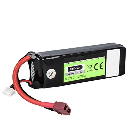 Akku kompatibel mit Align, E-flite - Li-Polymer 2200mAh - für Align T Rex 450, Beam E4, E-flite Night VisionAire, Blade 350QX, 450 3D, 450 X