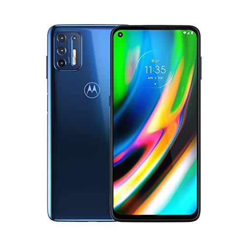 Motorola Moto G9 Plus | Unlocked | International GSM only | 4/128GB | 64MP Camera | 2019 | Blue Indigo, 169.98 x 78.1 x 9.69mm Missouri