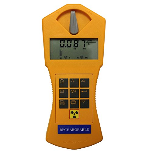 Geiger Counter Gamma-Scout Rechargeable Version - Hand Held Radiation Detector