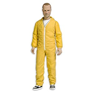Breaking Bad Action figure Jesse Pinkman in yellow suit by Mezco 10
