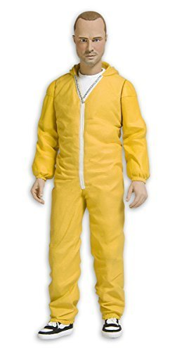 Breaking Bad Action figure Jesse Pinkman in yellow suit by Mezco 1