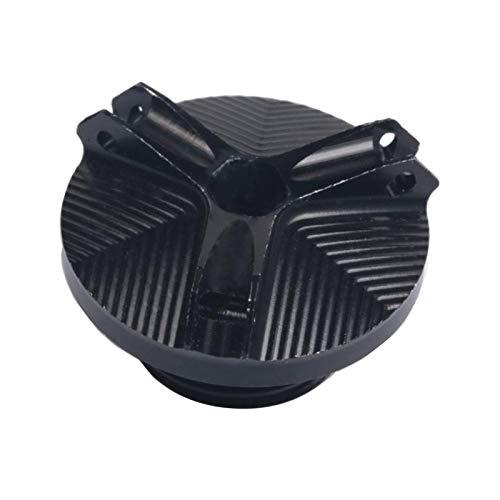 B Blesiya Accesorios de Motocicleta Tapón de Drenaje de Aceite Del Motor para - Negro