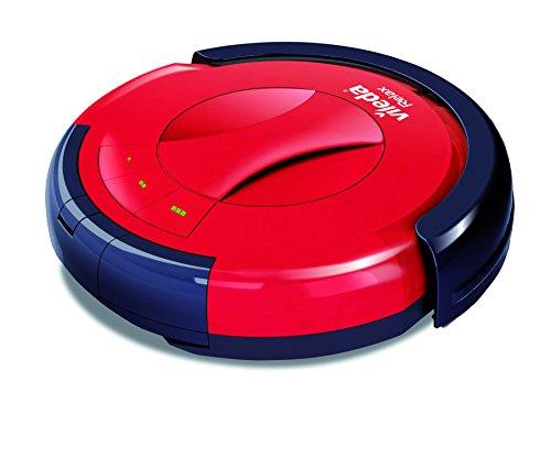 Vileda Relax Cleaning - Robot aspirador con doble sistema de limpieza y 3 programas