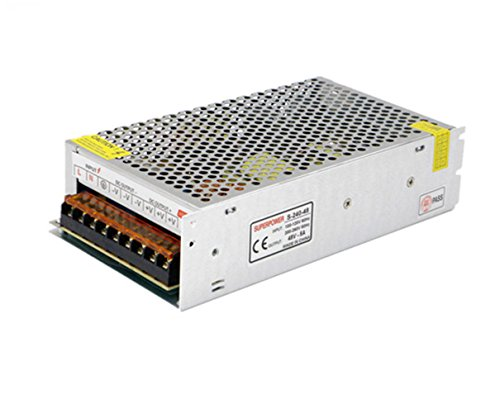LianShi Universal Schaltnetzteil geregelter Transformator Kurzschluss und Überstromschutz AC100-260V DC48V 5A