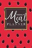 Weekly Meal Planner: food journal meal planner for Breakfast lunch and dinner Family meal planner notebook   26 Week Food Planner & Grocery list Menu ...   watermelon Design (healthy meal planner)