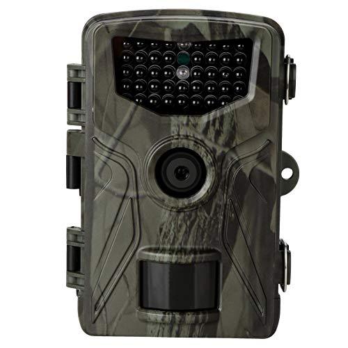 WJY Cámara de Caza, 20MP 1080P Cámara de Vigilància de la Vida Silvestre Cámara de Fototrampeo, Cámara de Caza Nocturna HC804A para la Observación de la Vida Silvestre