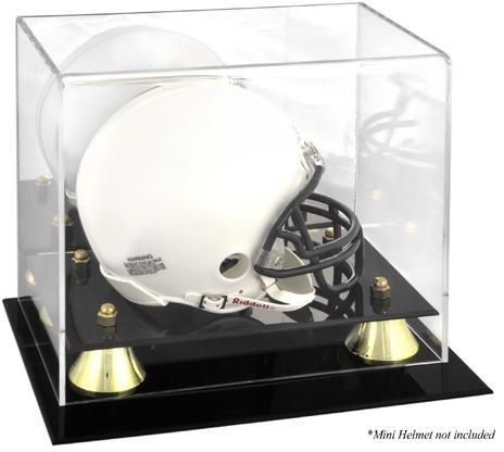 Mini Helmet Case - Football Mini Helmet Display Cases No Logo