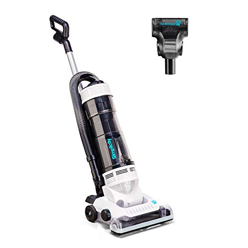 Simplicity S20PET Bagless Upright Pet Vacuum Cleaner, Crevice Tool and More, HEPA Media Filter