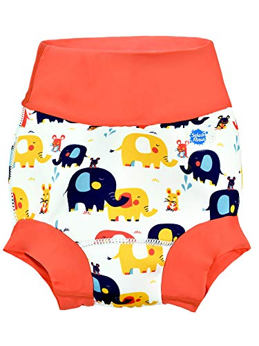 Splash About Bañador pañal Happy Nappy (12-24 meses, Little Elephants)