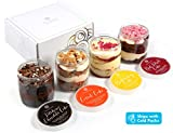 Kayla's Cake in a Jar Premium Luxury Gourmet Assorted Gift Baskets Chocolate Birthday Care Package College...