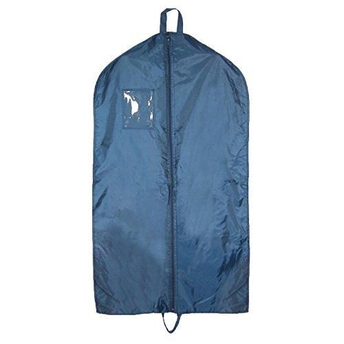 Liberty Bags Nylon Garment Bag with Double Handles, Navy