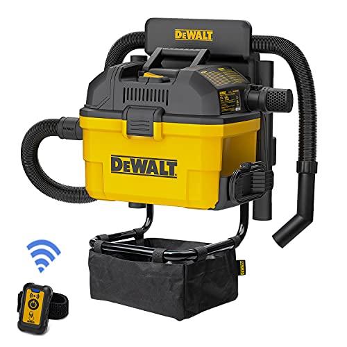 DEWALT Portable 6 Gallon 5 Horsepower Wall-Mounted Garage Wet Dry Vacuum Cleaner DXV06G