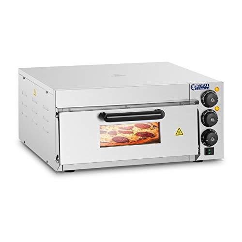 Royal Catering Forno Elettrico per Pizza Professionale RCPO-2000-1PE 1 compartimento