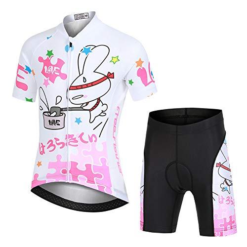 YFPICO Enfant Maillot de Cyclisme Manches Courtes...